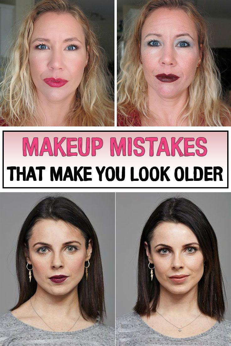 Makeup Mistakes Making You Look Tired Makeup To Look Older Makeup Mistakes Makeup Tips For Older Women