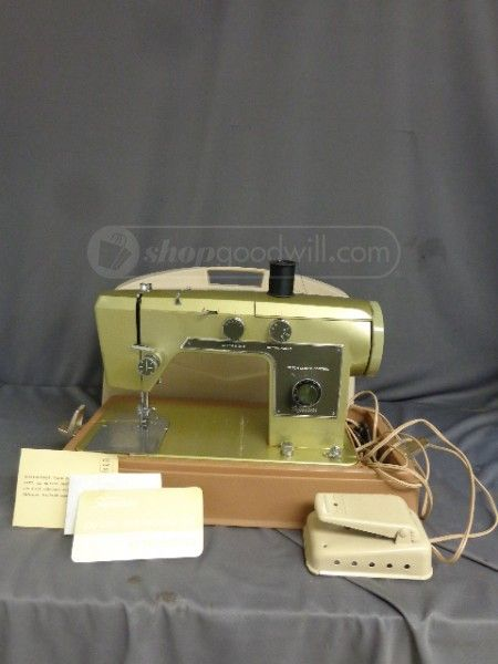 Shopgoodwill Vintage Wards Signature Sewing Machine Vintage Enchanting Vintage Signature Sewing Machine