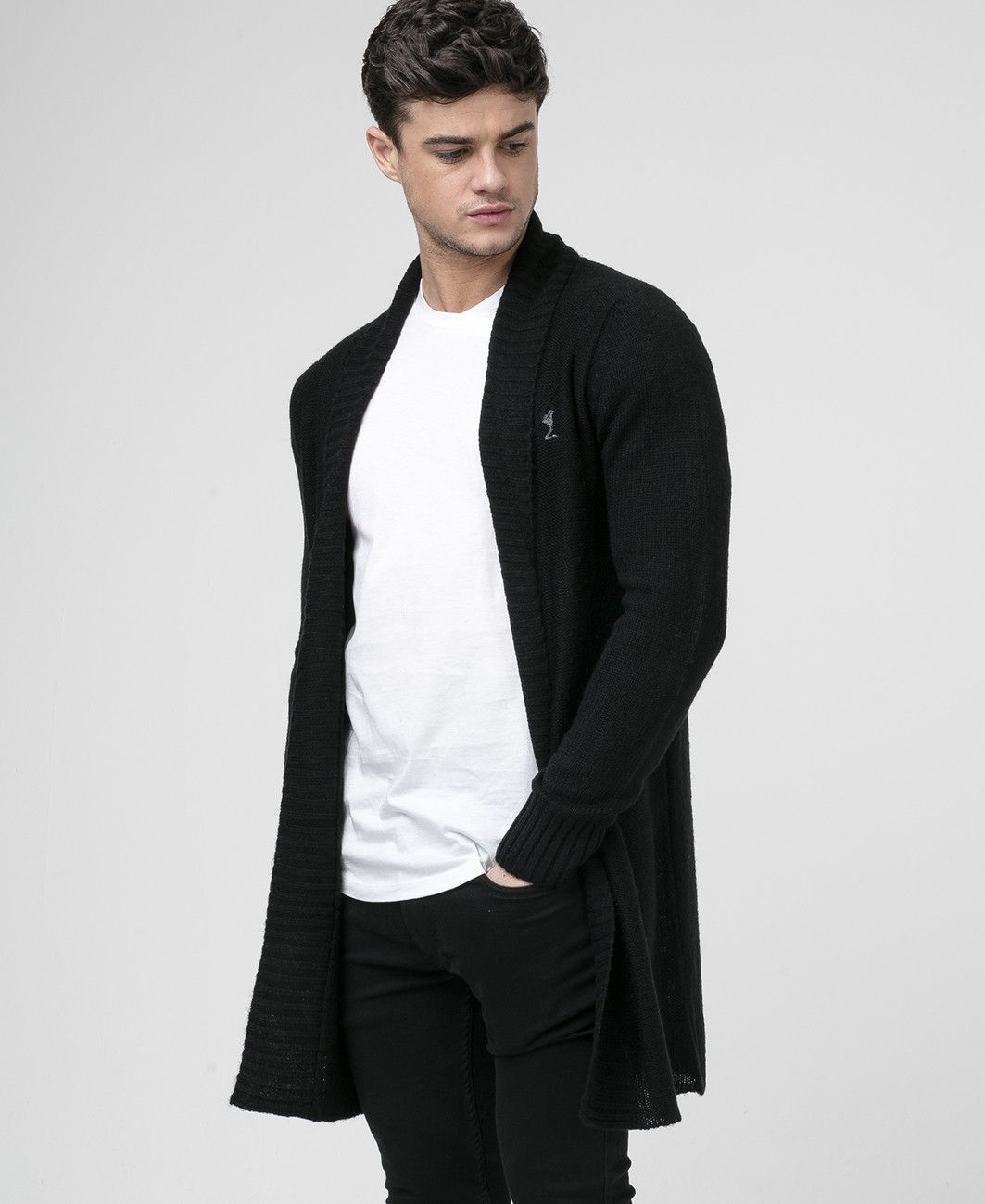 RALED BLACK CARDIGAN - New in - Mens - £75 | Cardigans For Men ...