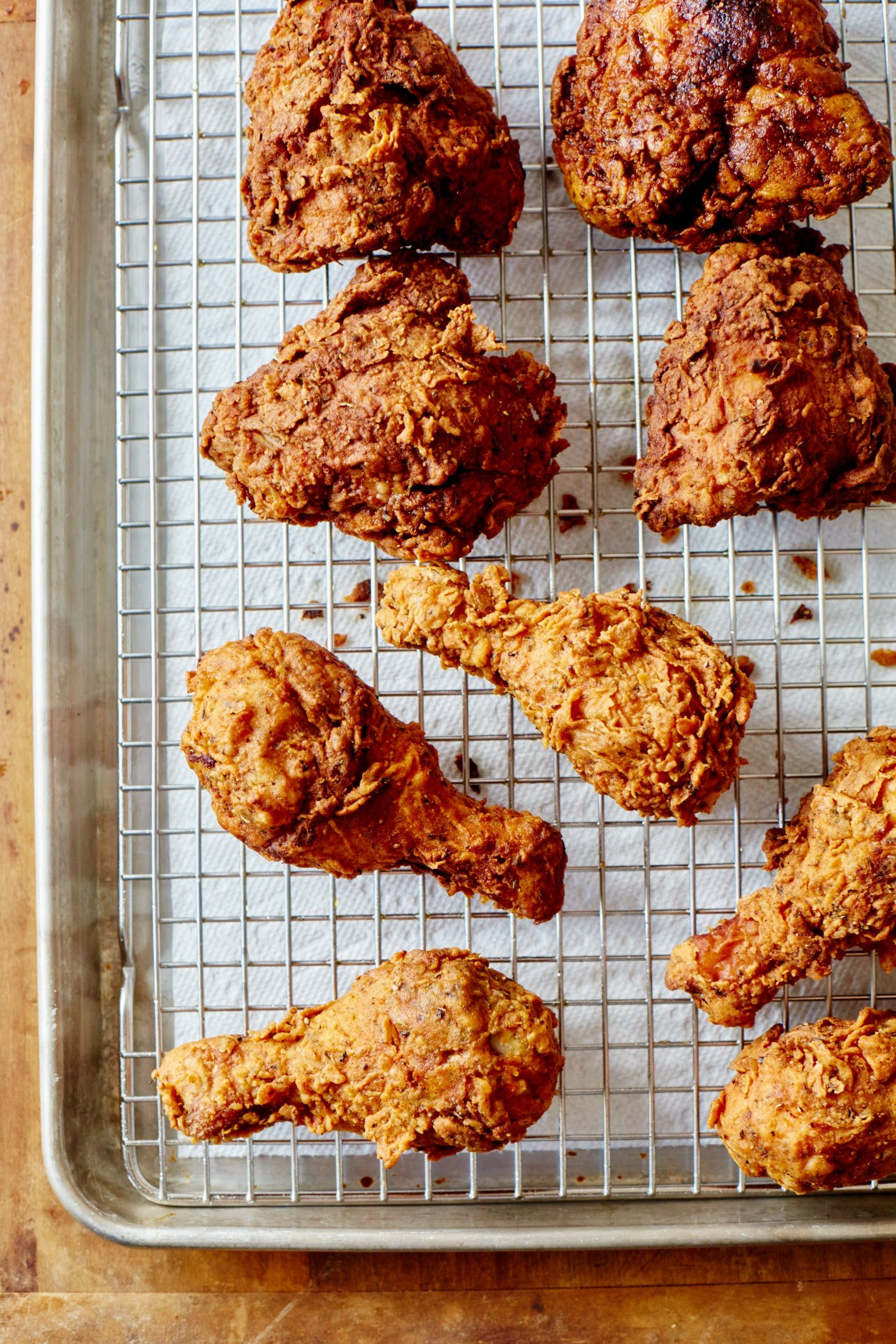 How To Make Crispy, Juicy Fried Chicken (that's Better Than Kfc)