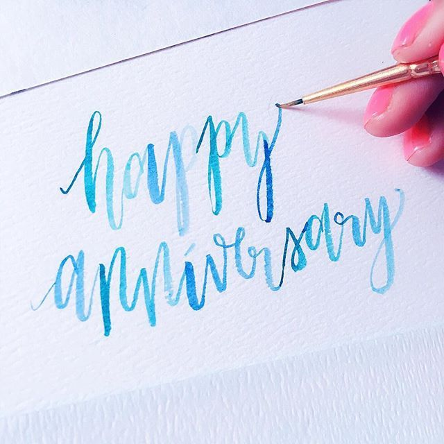 Juhi Chitra On Instagram Planning To Make A Handmade Card For Parents 32nd Anniversa Watercolor Anniversary Card Anniversary Card For Parents Cards Handmade