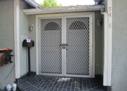 Decorative Security Screen Doors | Double Security Doors  Pacific Beach Decorative  Security Door .