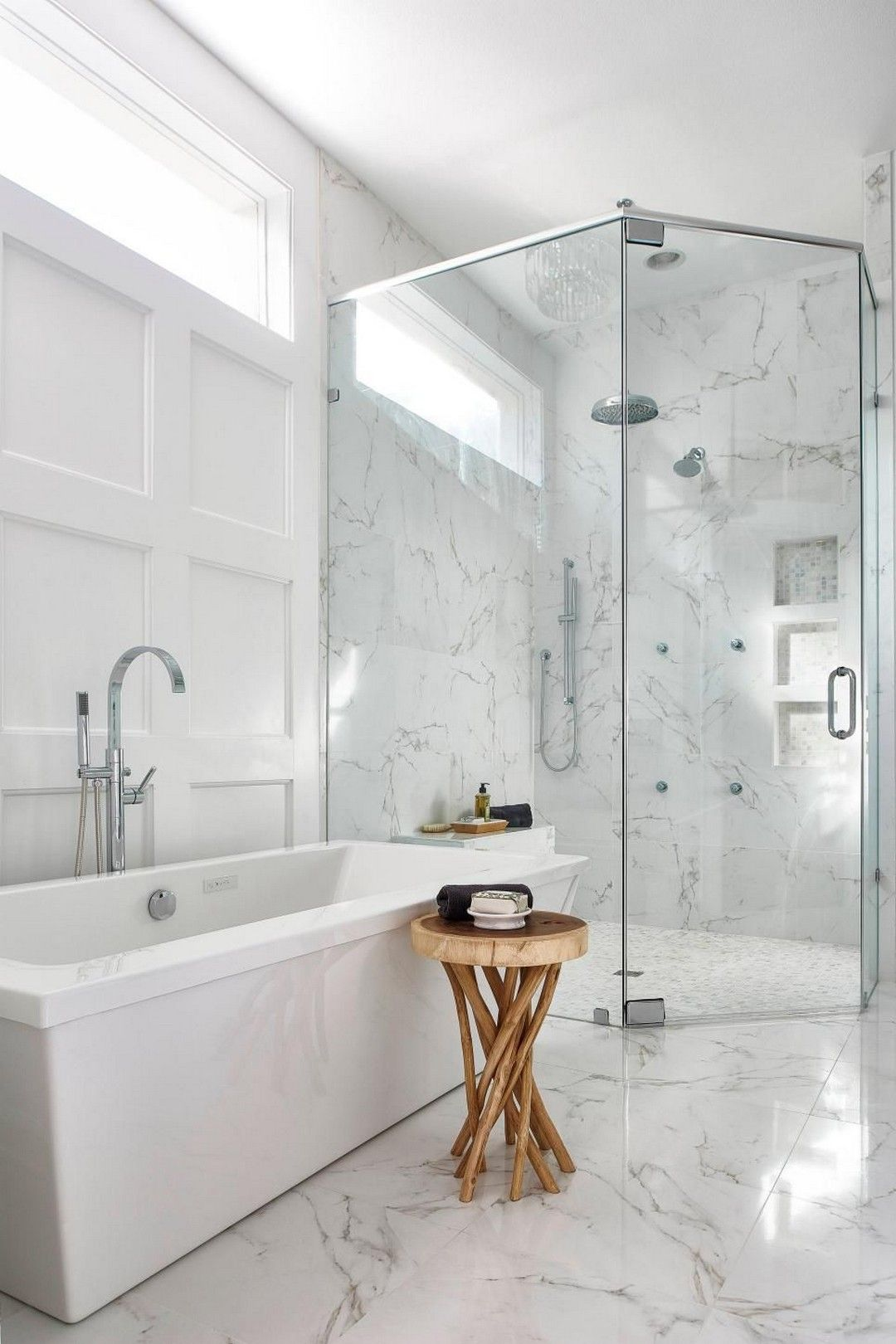 36 Master Badezimmer Deko Ideen Mit Marmor Stil Badezimmer