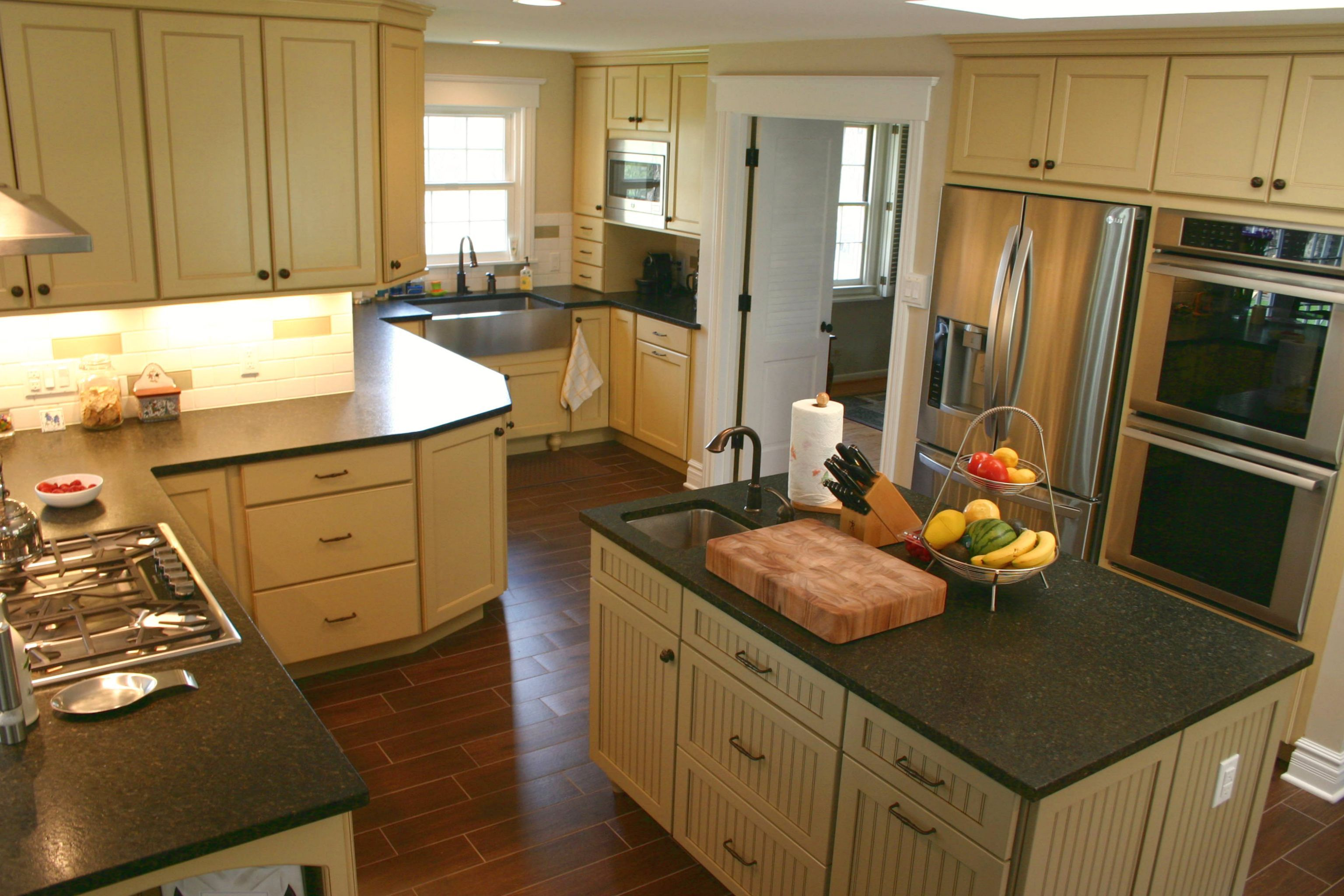 Bkc Kitchen And Bath Kitchen Remodel Perimeter Cabinetry  Mid New Bathroom Kitchen Remodeling Review