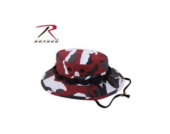 e876ba69784 Red Camo Boonie Hat
