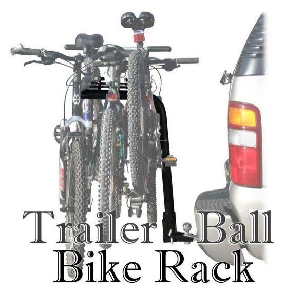 Ball Mounted Bike Rack Rage 3 Bike Trailer Ball Mount Rack