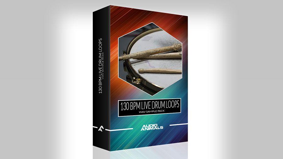 Audio animals releases 130 bpm live drum loops free sample