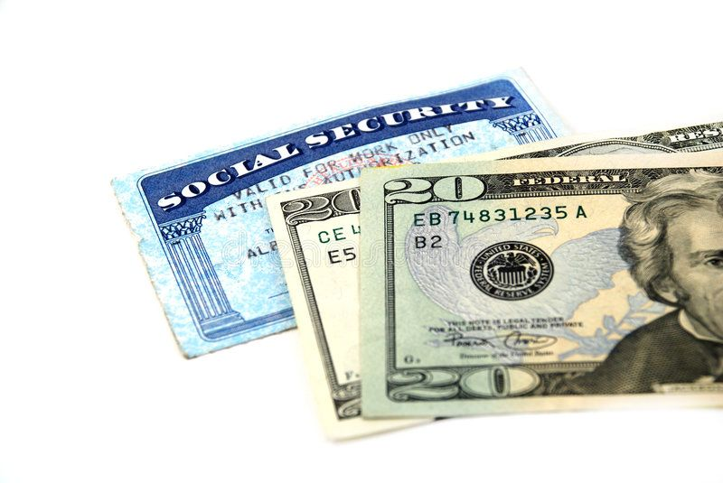 Social Security Benefits Stock Pictures Of A Social Security Card And Social Security Benefits Social Security Disability Social Security Disability Benefits