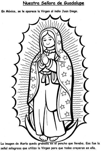 Fichas Variadas Con Imagenes Virgen De Guadalupe Imagenes De