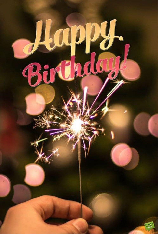 Happy birthday sparklers card happy birthday sparkle