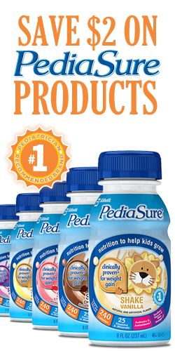 Save 2 On Pediasure Products Coupons And Savings Pinterest