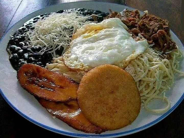 Así era que se comía antes en cualquier rancho humilde de Venezuela !!! Cuando eramos ricos y no lo sabíamos !!
