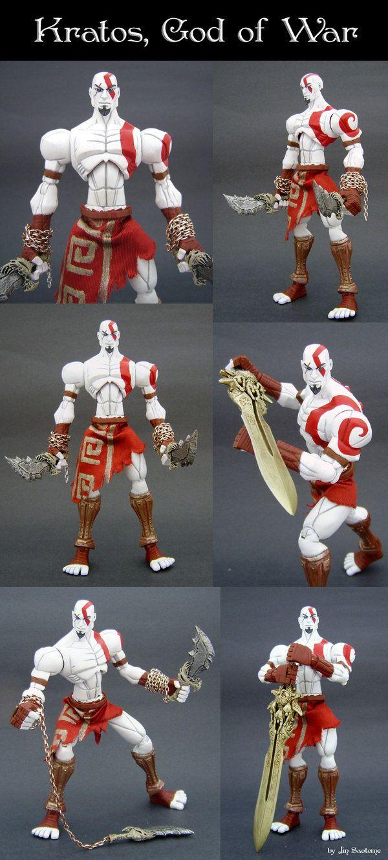 Kratos God Of War By Jin Saotome On Deviantart Video