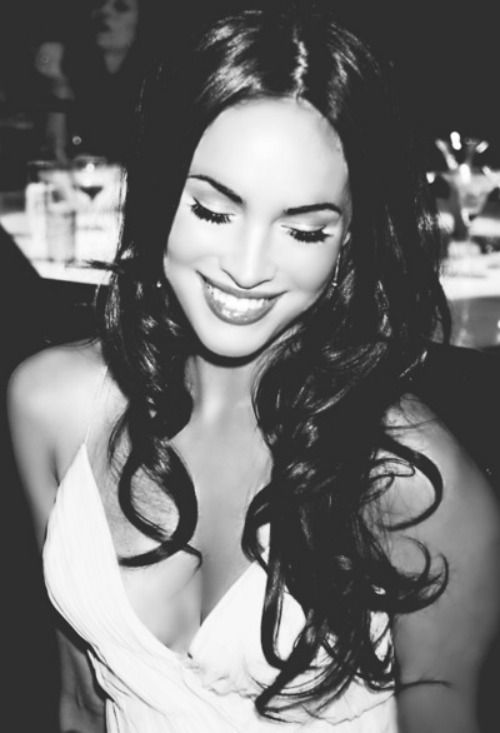 Megan Fox. Love. And her hair is gorgeous.