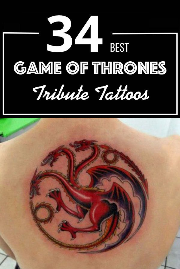 87c03716f 34 Best Game Of Thrones Tribute Tattoos | Tattoos from Film ...