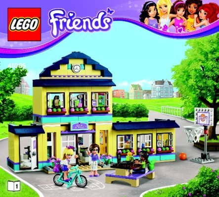 montage lego friends 41005