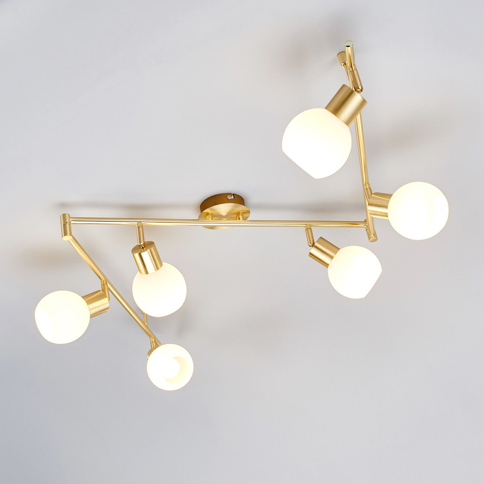 Strahler Von Lindby Gold Deckenlampe Beleuchtung Decke Led Deckenlampen