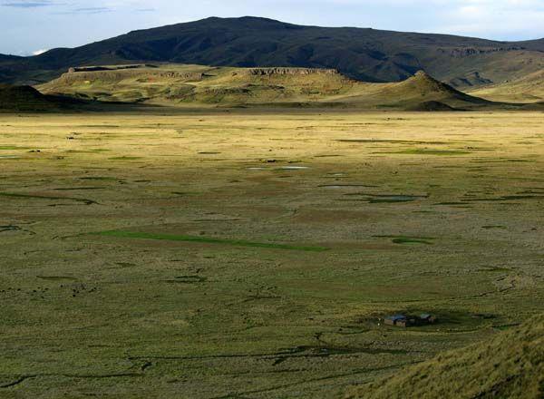 Hill Watch Plains - Sunset on the high plains