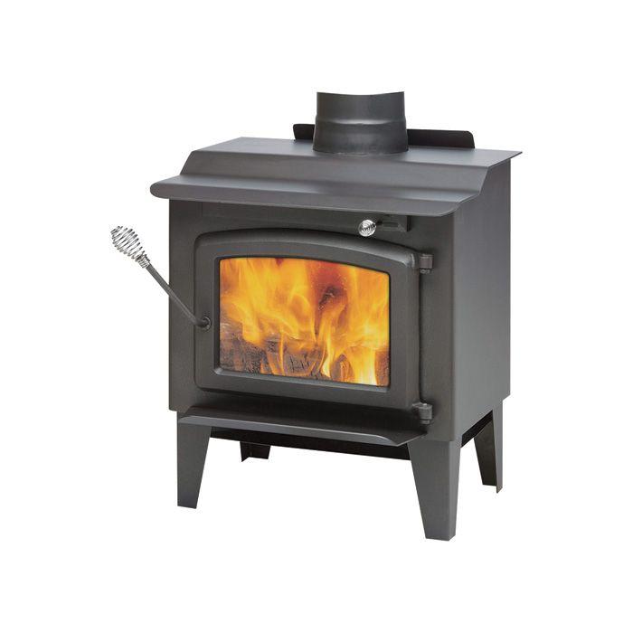 century heating epa-certified wood stove with legs — 40,000 btu ...