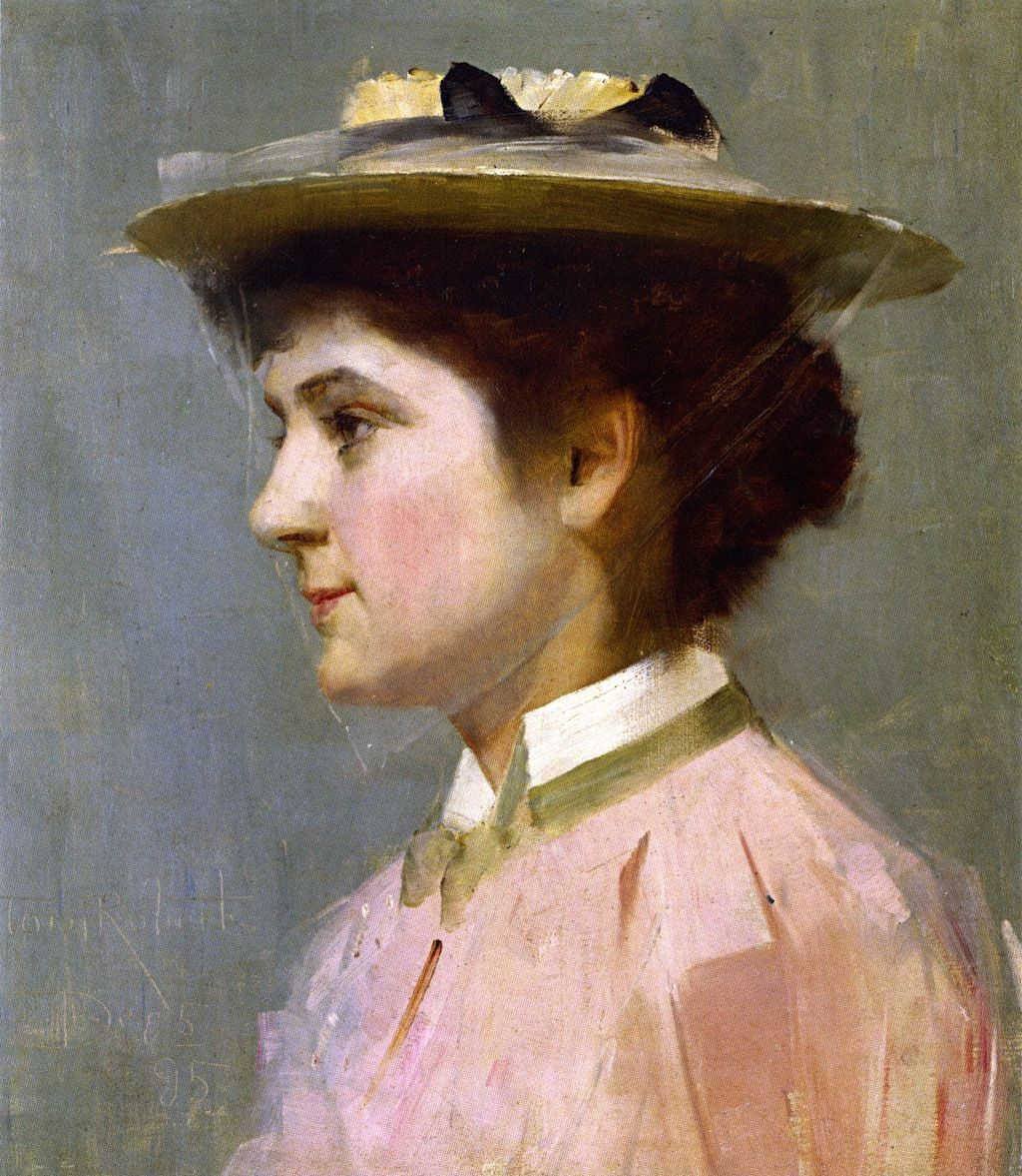 Pin By Isobel On Isobel May Ledden In 2019: 1895 - Miss Isobel McDonald - Tom Roberts