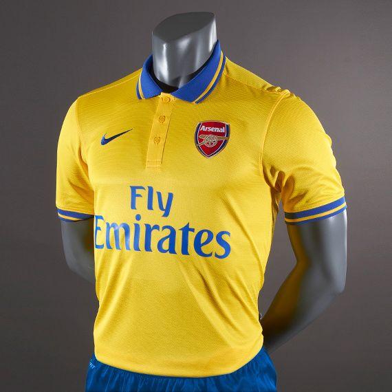 6c80e4549e7 Arsenal Nike Away Shirt 2013 14