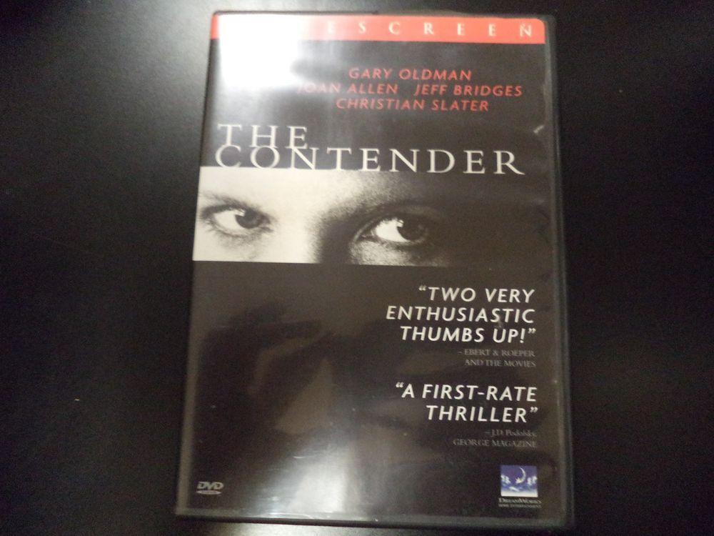 The Contender Dvd 2001 Ebay Dvd Christian Slater