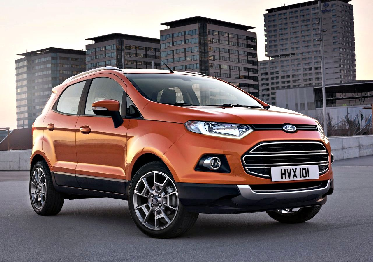 Ford Ecosport Picks Up Volumes Duster Drops Ford Ecosport Ford Small Suv Ford