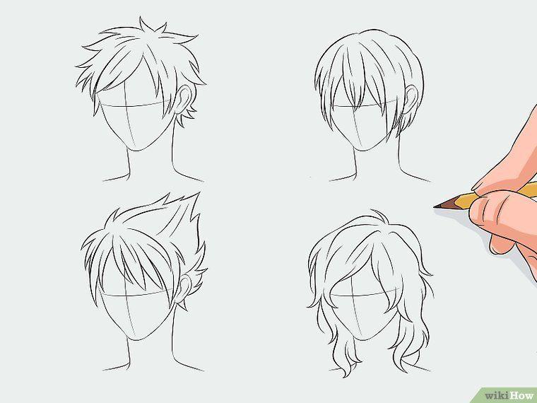 Manga Haare Zeichnen Manga Haar Haare Zeichnen Und Manga