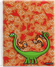 Cuaderno 4 colores polipropileno KUKUXUMUSU | Libreta, libretas apuntes, libretas colegio,margenes de colores, libreta organizadora, libreta con secciones, espiral, | Agendas, libretas, cuadernos, carpetas, mochilas, estuches, bolsas, libreta, cuaderno, material escolar, mochila | Miquelrius-Papelería y complementos escolares