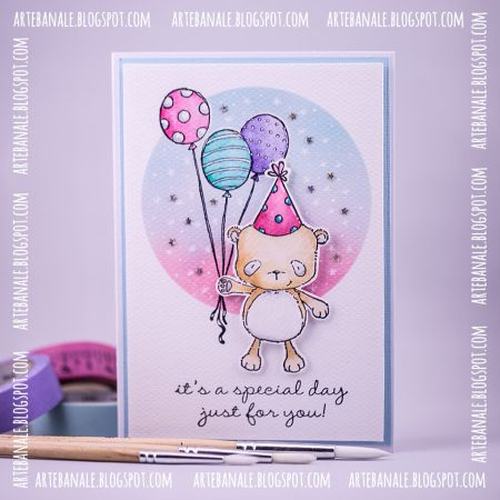 Agnieszka Danek-Wisniak - Happy Birthday Card Cards - Layouts - birthday card layout