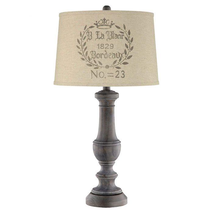 Bordeaux Table Lamp Iii 79 95 Retail 189 99 Jossandmain Com