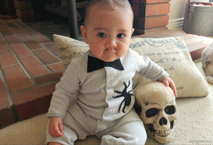 Diy Baby Pubert Addams Halloween Costume Diy Baby