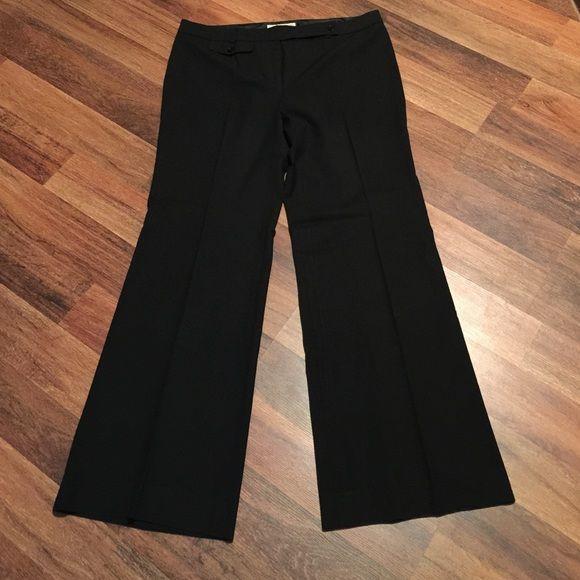 Michael Kors slacks- EUC EUC Sz 12 Black Slacks. Worn once- prefer straight leg. Bundle for extra Savings! MICHAEL Michael Kors Pants