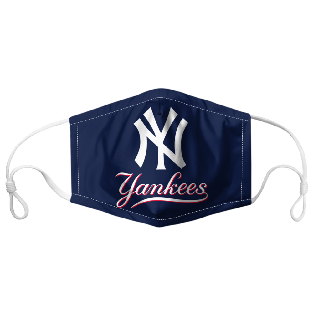 New York Yankees Face Mask In 2020 Mouth Mask Fashion Face Mask Yankees