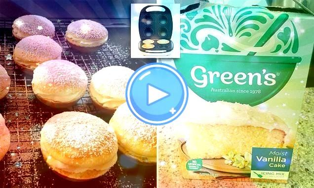 making snow cakes in the Kmart pie maker using two ingredients  My Board Mums making snow cakes in the Kmart pie maker using two ingredients  My Board  Snow Cakes were cr...