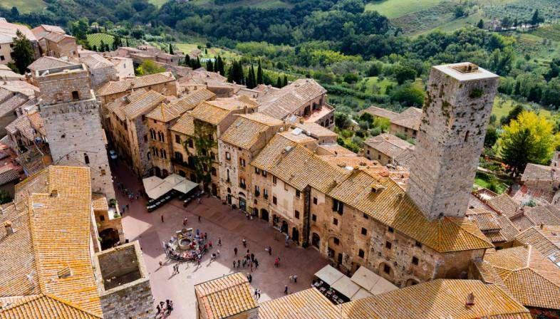 San Gimignano Siena E La Val Delsa In Autunno Mete Fantastiche