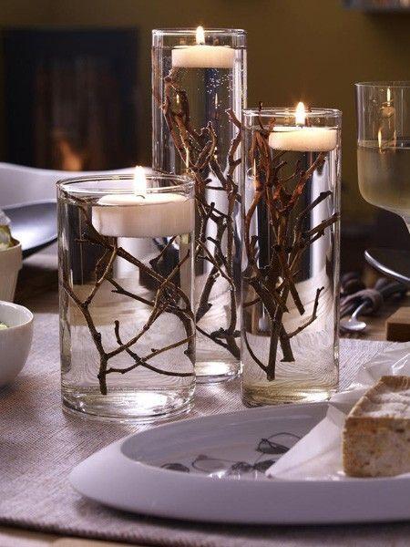 6 DIY-Ideen: Kerzendeko für einen gemütlichen Herbst #candles