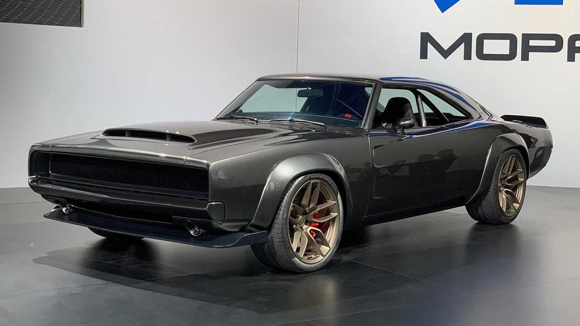 1968 Dodge Super Charger Concept Custom Muscle Cars Dodge Charger Dodge Muscle Cars