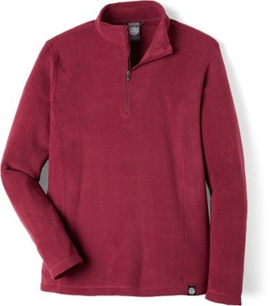 REI Co-op Men's Quarter-Zip Fleece Pullover Indigo Xxxl | Pullover ...