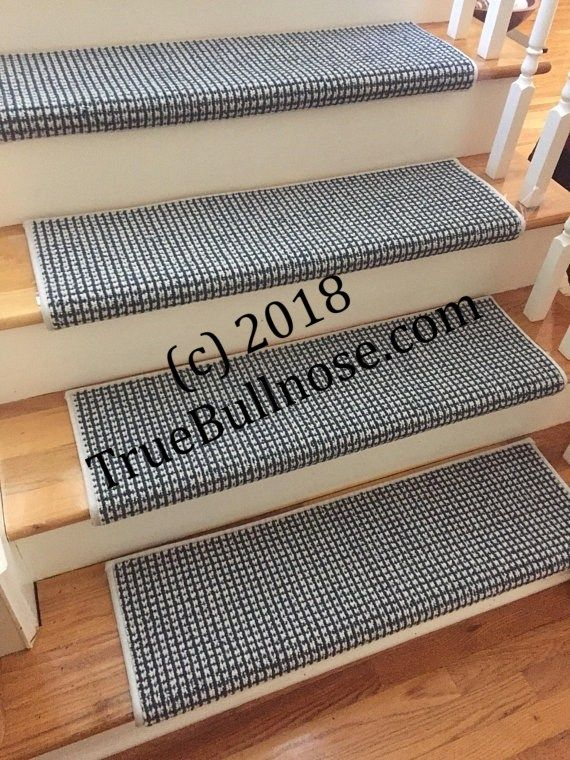 Best Luxury Cadence 2 Maritime Blue Carpet Stair Tread For 400 x 300