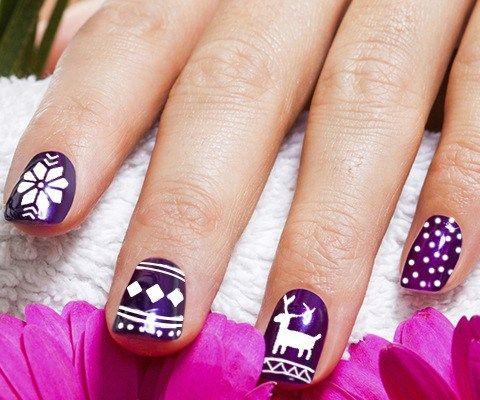 19 Creative Purple Nail Art Designs Nail Art Nail Art Nails