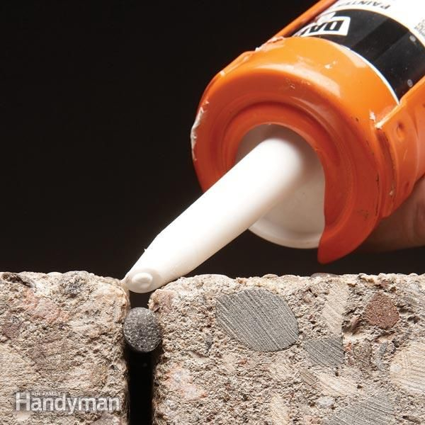 How To Caulk Concrete Discover More Ideas About Concrete