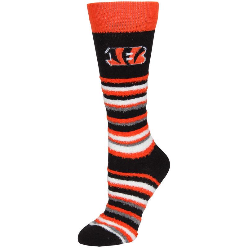 a8f624d9 Cincinnati Bengals For Bare Feet Women's Muchas Rayas Sleep Soft ...