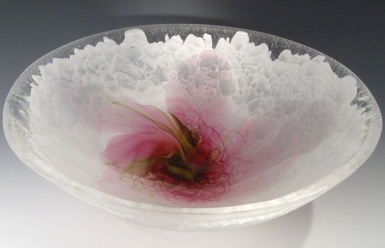Decorative Colored Glass Bowls Wind Drift Art Glass Sink Bowl Beach Decor Coastal Home Decor