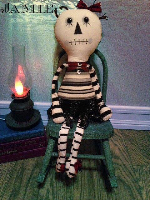 handmade doll,rag doll,annie,stuffed doll,gothic,hand sewn,black,everyone,mascot monster,friend,cute monster doll,kids teen adults,doll,girl by DDSMASCOTMONSTERS on Etsy https://www.etsy.com/listing/211614817/handmade-dollrag-dollanniestuffed