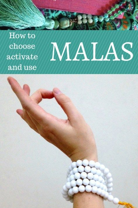 Malas: choosing one, activating it, and using your mala for meditation and manifestation