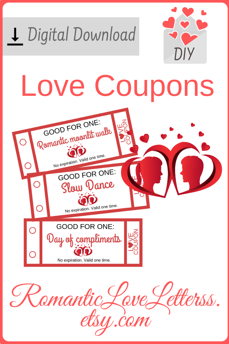 These 52 Printable Love Coupons Are Excellent Romantic Game For Couples Please Check Love Coupons For Him Love Coupons 1st Wedding Anniversary Gift For Him