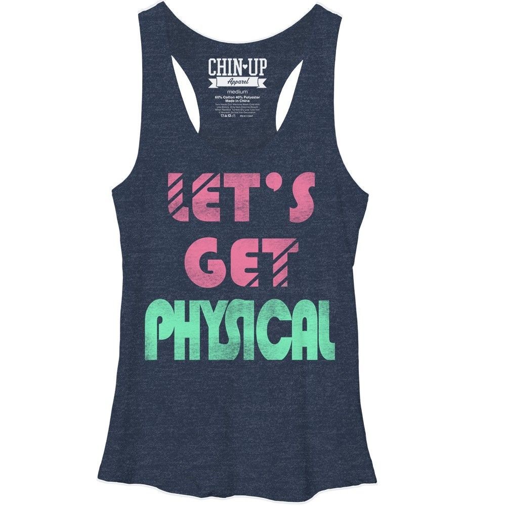 Women/'s I Love The 80/'s Workout Racerback Tank Top for 80/'s Fans