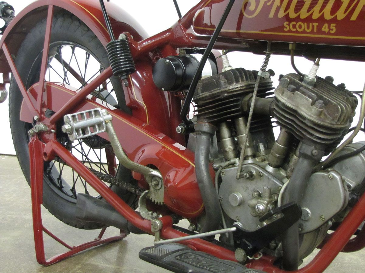 1927 Indian Scout 45 National Motorcycle Museum Indian Scout Motorcycle Museum Indian Motorbike