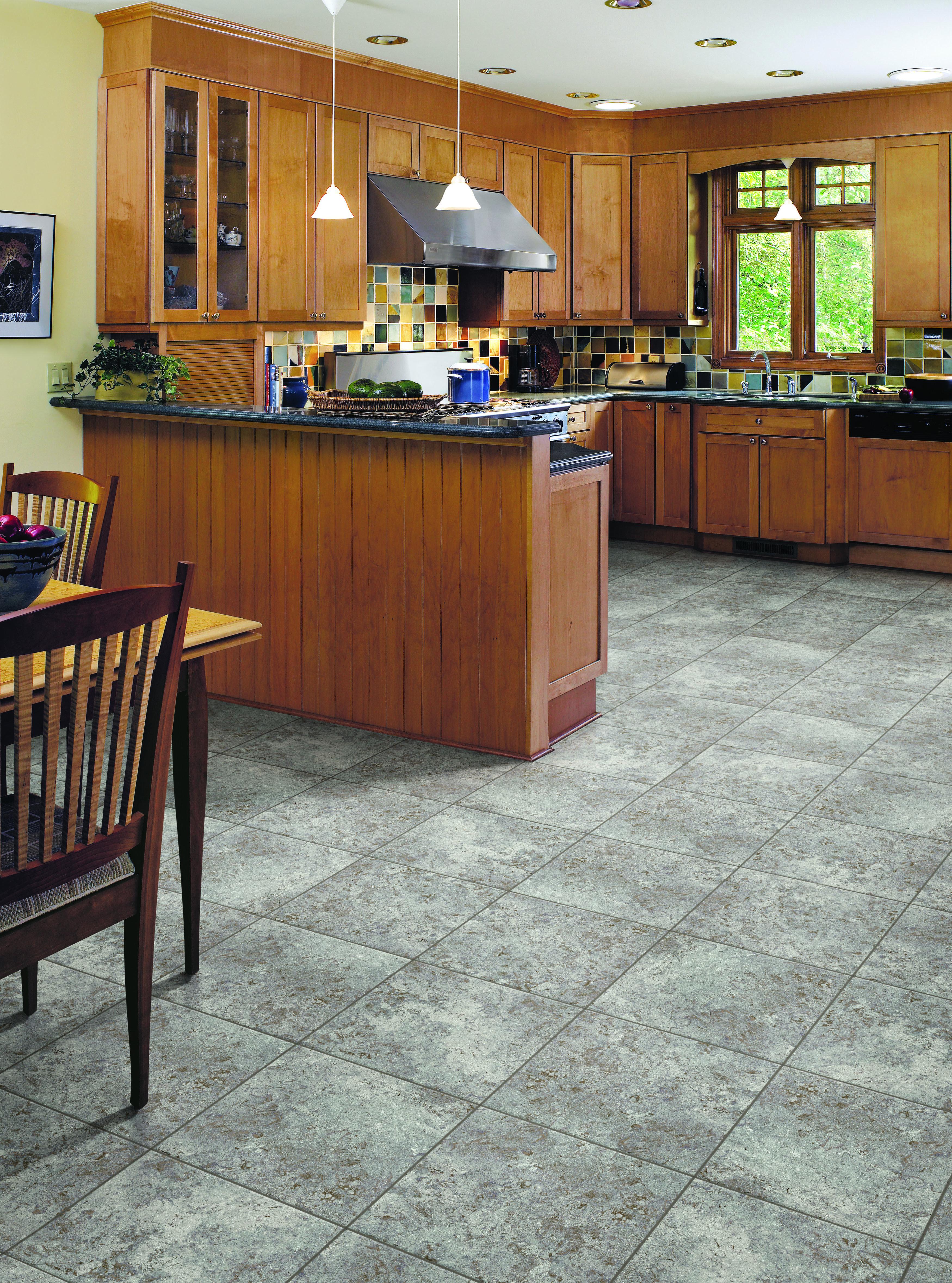 renaissance in moonstone by congoleum luxury vinyl tile house flooring kitchen decor on kitchen remodel vinyl flooring id=96248